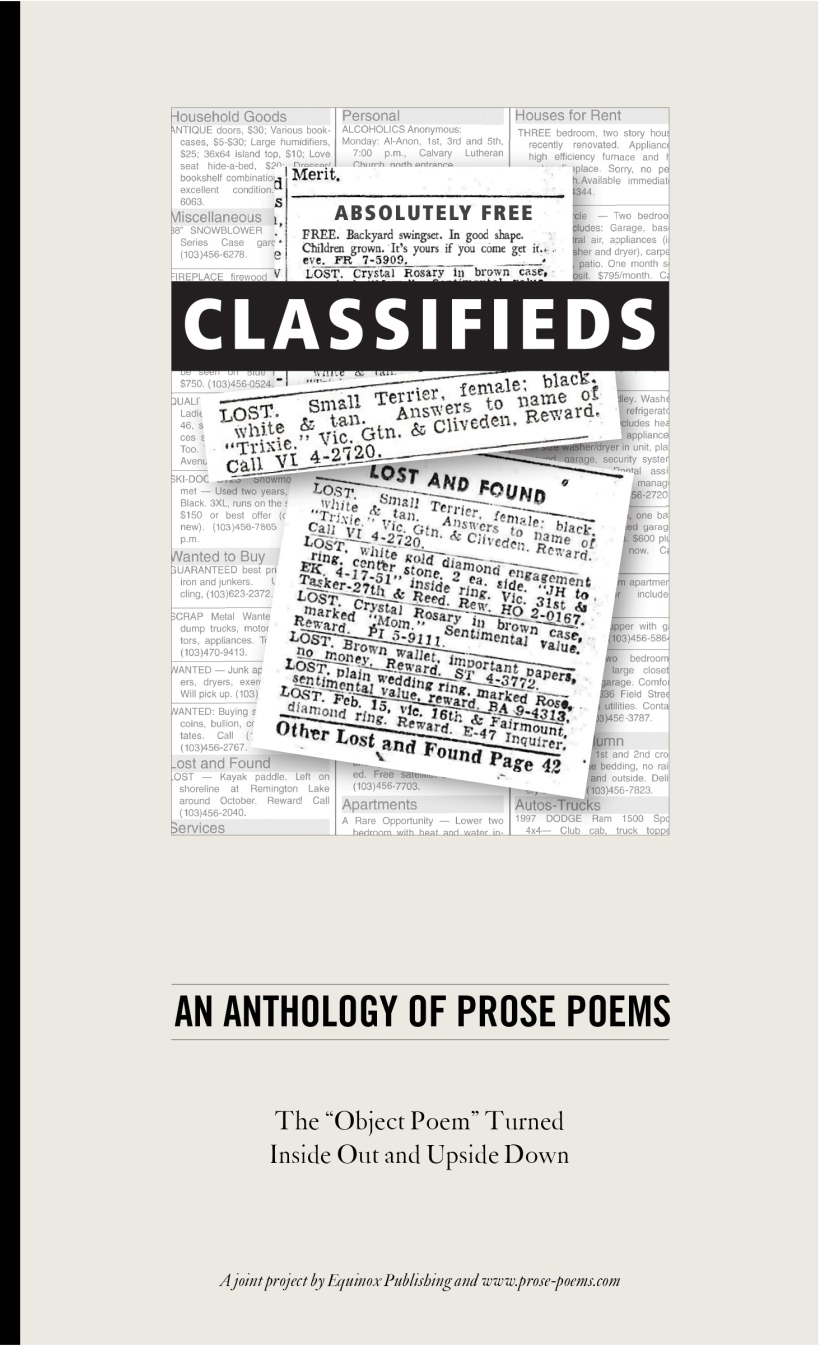 Classified anthology cover