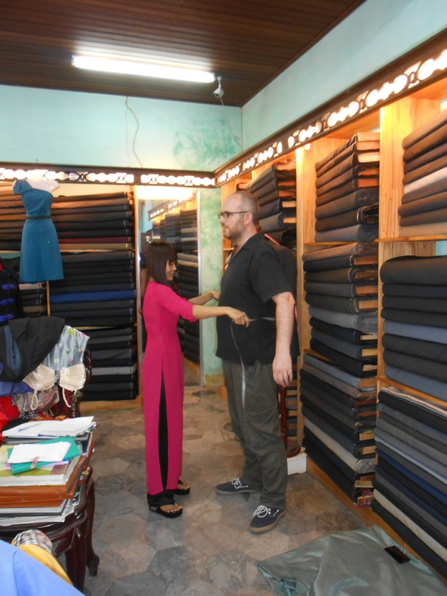 Measuring up in Hoi An
