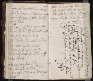 17th Century commonplace book