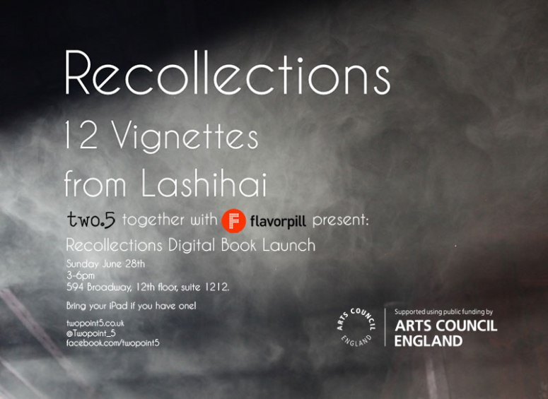 postcard invite recollections