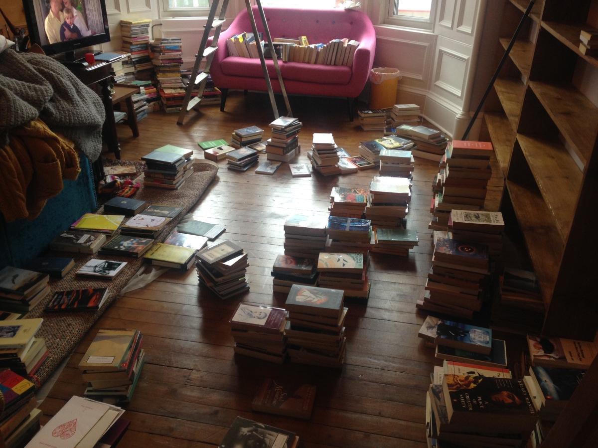 Storyshop 2016, Book launch broadcast & some bookshelfporn