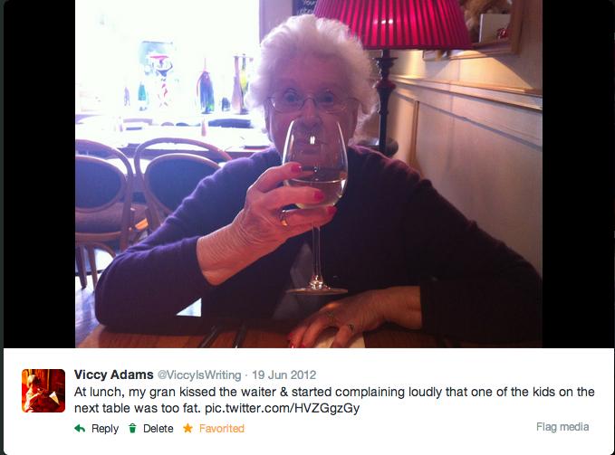 The comfort of stories: in memoriam HildaMay