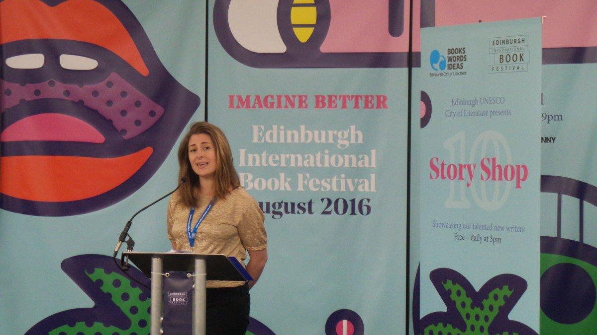 'Default Settings' at the Edinburgh International Book Festival 2016#Storyshop